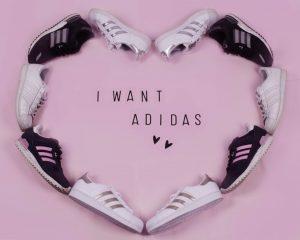 witte Adidas sneakers
