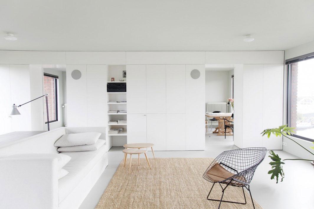 Gietvloer interieur woonkamer for Compleet interieur woonkamer